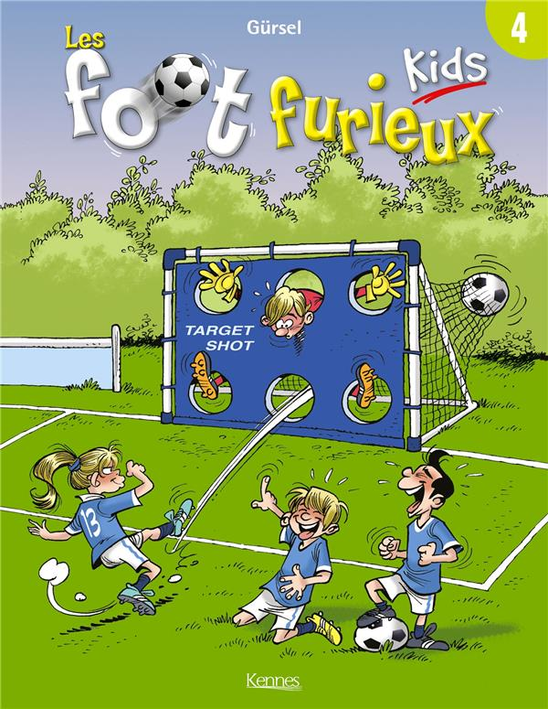 LES FOOT FURIEUX KIDS - TOME 4