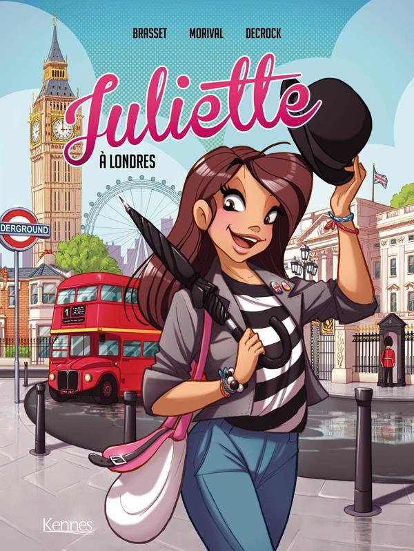 JULIETTE EN BD - JULIETTE A LONDRES BD T03