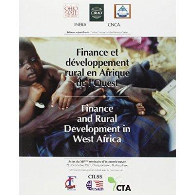 FINANCE ET DEVELOPPEMENT RURAL EN AFRIQUE DE L'OUEST