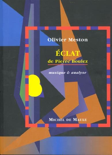 ECLAT -DE PIERRE BOULEZ