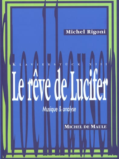 REVE DE LUCIFER -DE STOCKHAUSEN