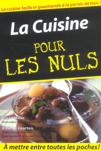 LA CUISINE FACILE - POCHE POUR LES NULS