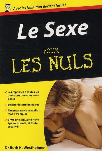 SEXE POCHE POUR LES NULS (LE)