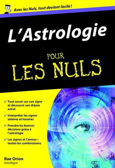 ASTROLOGIE POCHE POUR LES NULS (L')