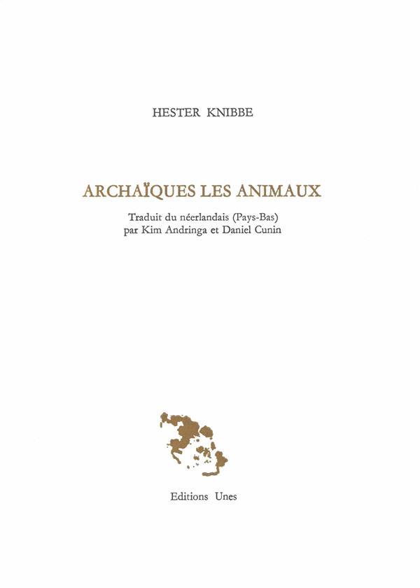ARCHAIQUES LES ANIMAUX