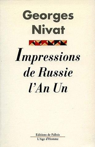 IMPRESSION DE RUSSIE DE L'AN 1