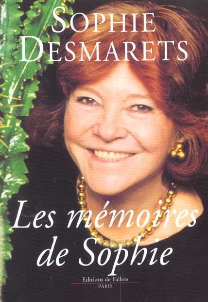LES MEMOIRES DE SOPHIE