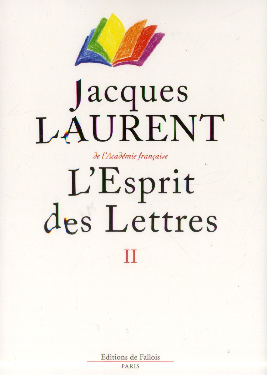 L'ESPRIT DES LETTRES II