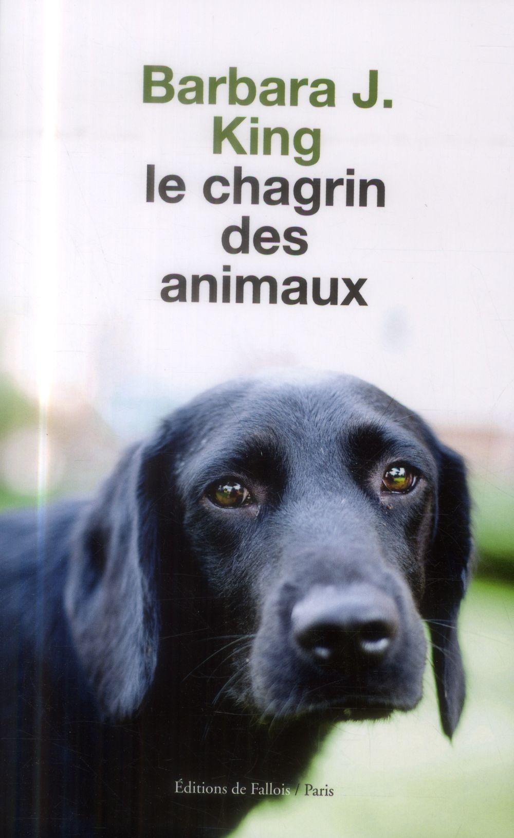 LE CHAGRIN DES ANIMAUX PRIX 30 MILLIONS D'AMIS -ESSAI-