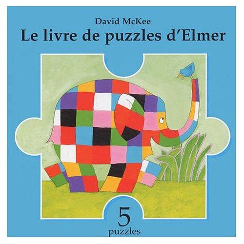 LIVRE DE PUZZLES D ELMER (LE)