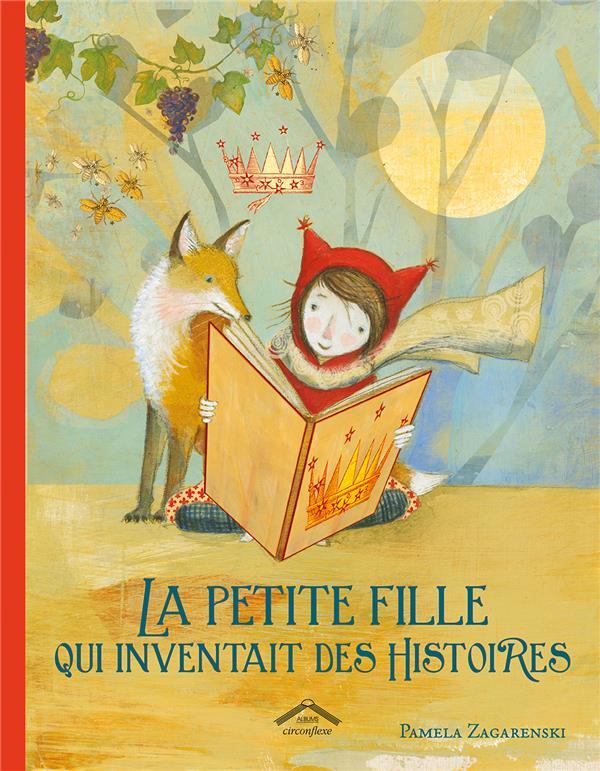 PETITE FILLE QUI INVENTAIT DES HISTOIRES