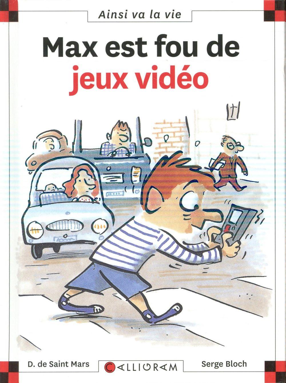 MAX EST FOU DE JEUX VIDEO