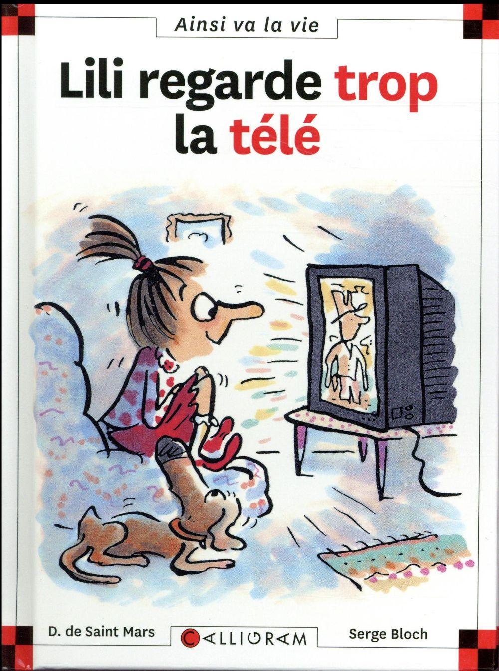 LILI REGARDE TROP LA TELEVISION