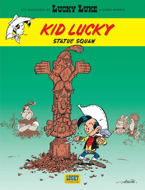 T3 - KID LUCKY : STATUE SQUAW