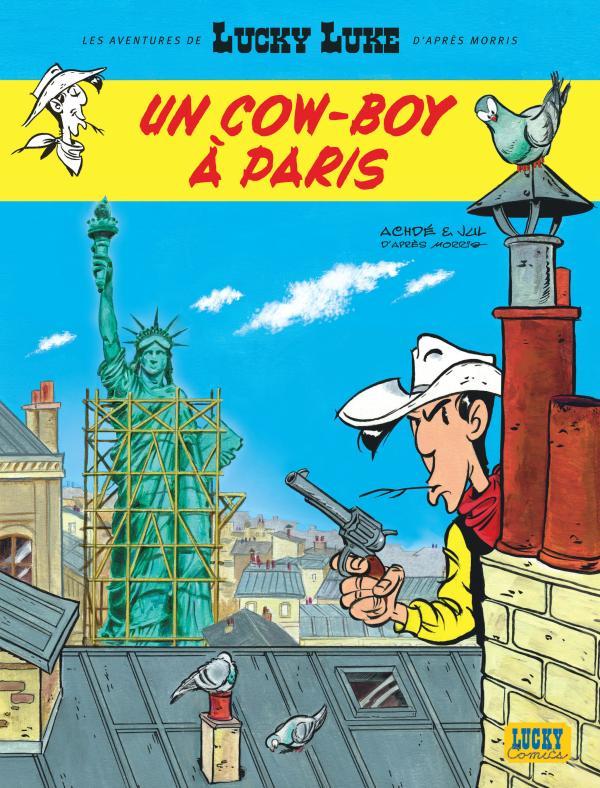 NLLES AVENT LUCKY LUKE - AVENTURES DE LUCKY LUKE D'APRES MORRIS (LES) - TOME 8 - UN COW-BOY A PARIS