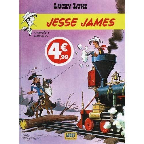 LUCKY LUKE - TOME 4 - JESSE JAMES (INDISPENSABLES 2020)