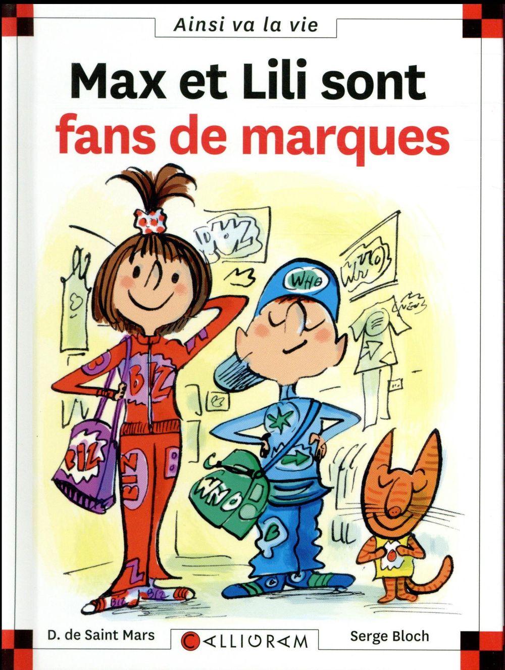 MAX ET LILI SONT FANS DE MARQUES