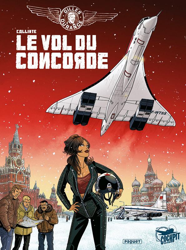 GILLES DURANCE T3 - LE VOL DU CONCORDE