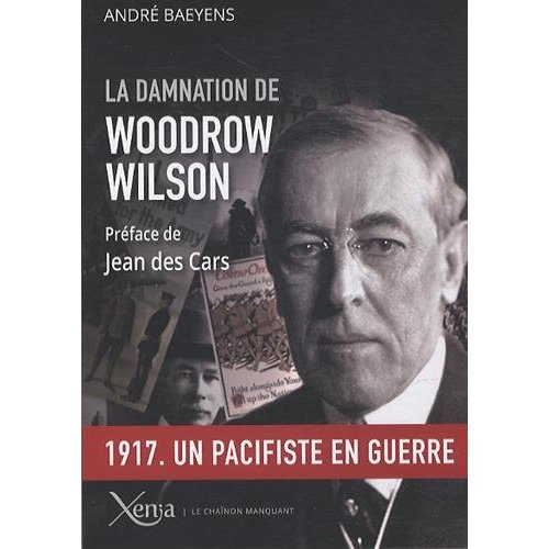 LA DAMNATION DE WOODROW WILSON - 1917.UN PRESIDENT EN GUERRE