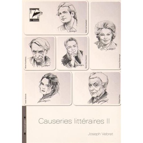 CAUSERIES LITTERAIRES