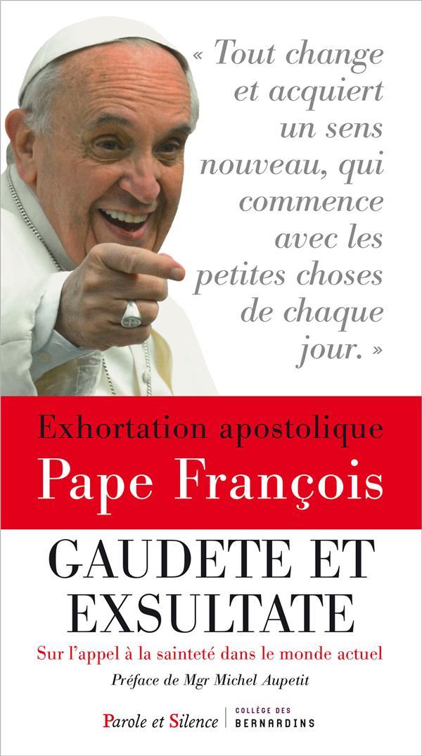 EXHORTATION APOSTOLIQUE SUR LA SAINTETE