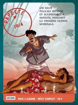 PAPEETE 1914 - COFFRET - PAPEETE 1914 - PACK 2 VOL