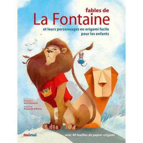 FABLES DE LA FONTAINE, PERSONNAGES EN ORIGAMI
