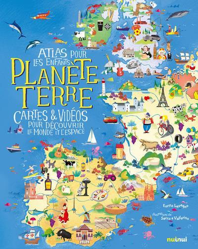PLANETE TERRE - ATLAS POUR LES ENFANTS