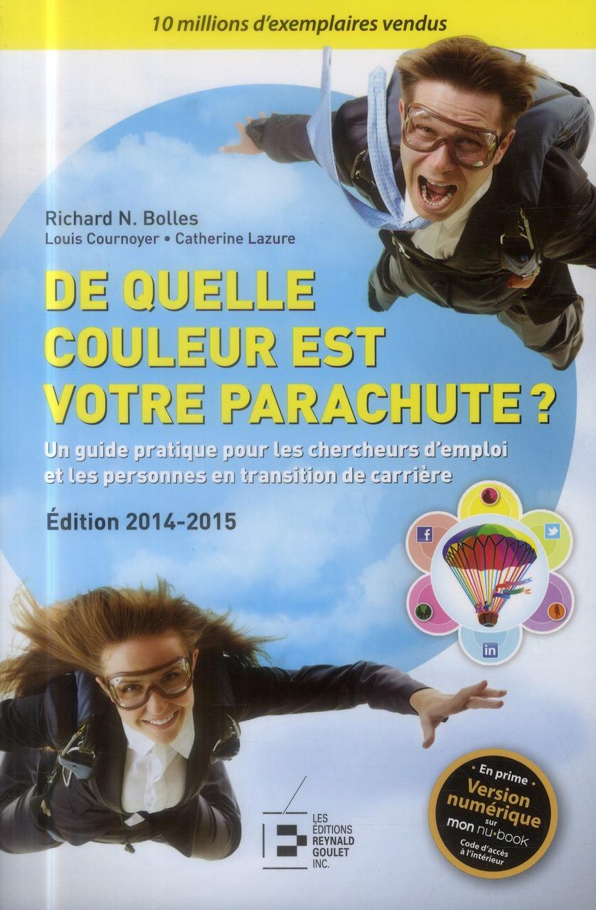 DE QUELLE COULEUR EST VOTRE PARACHUTE 2014-2015