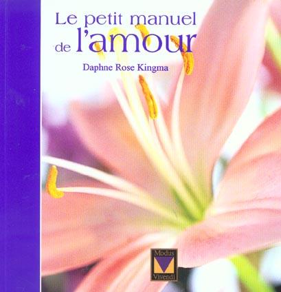 PETIT MANUEL DE L'AMOUR
