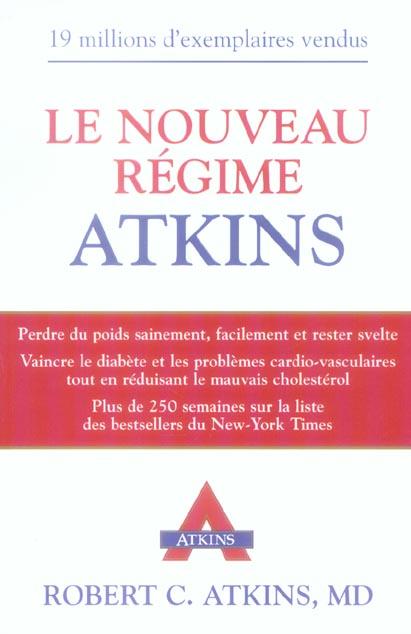 NOUVEAU REGIME ATKINS