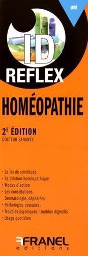 ID REFLEX HOMEOPATHIE 2E EDT