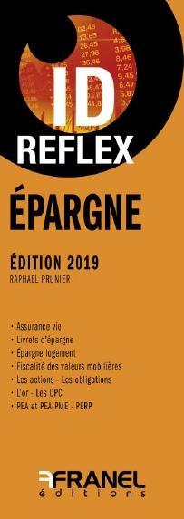 ID REFLEX' EPARGNE 2019