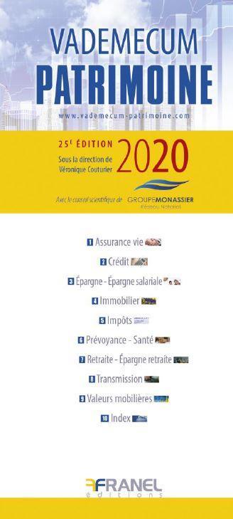 VADEMECUM PATRIMOINE 2020