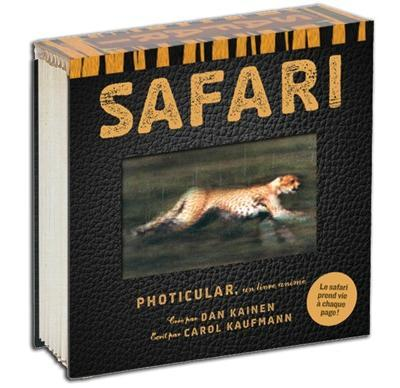 SAFARI PHOTICULAR-UN LIVRE ANIME