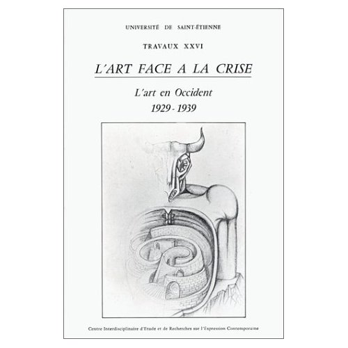 L ART FACE A LA CRISE