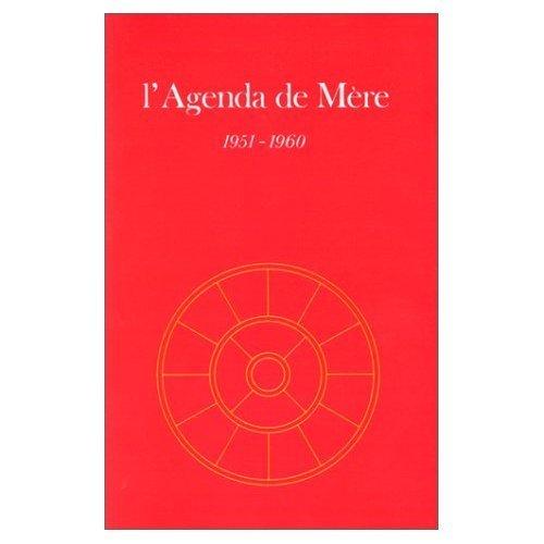 AGENDA DE MERE - TOME 1 - 1951-1960 - AE