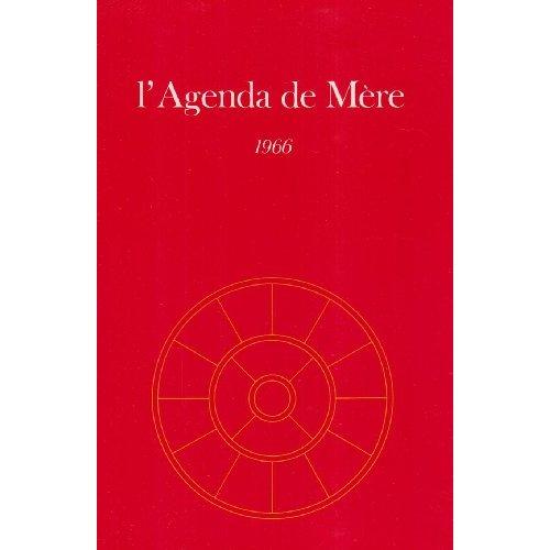 AGENDA DE MERE - TOME 7 - 1966