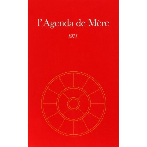 AGENDA DE MERE - TOME 12 - 1971
