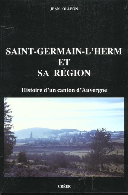 SAINT-GERMAIN-L'HERM HISTOIRE D'UN CANTON D'AUVERGNE