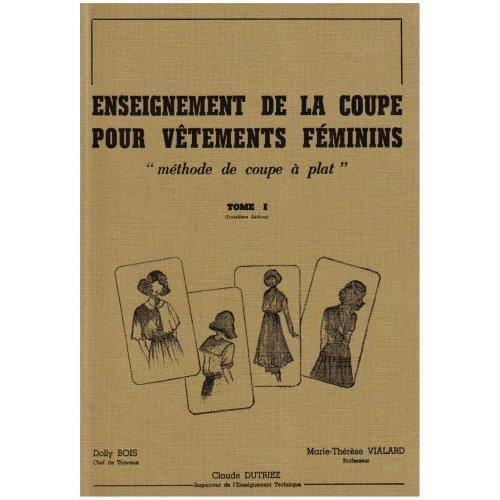 ENSEIGNEMENT DE LA COUPE POUR V TEMENTS F MININS