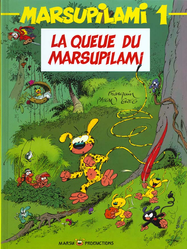 T1 - LA QUEUE DU MARSUPILAMI