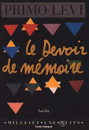 LE DEVOIR DE MEMOIRE