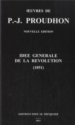 IDEE GENERALE DE LA REVOLUTION
