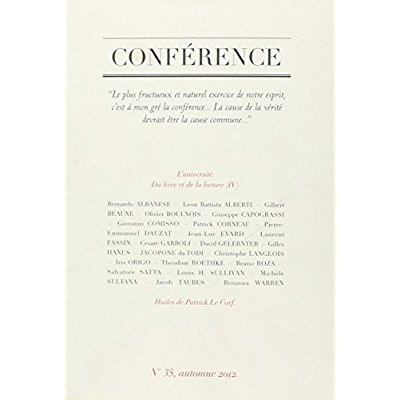 CONFERENCE N35