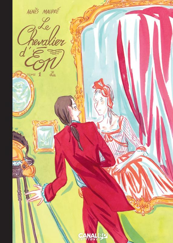 LE CHEVALIER D'EON T01 ED CANAL BD