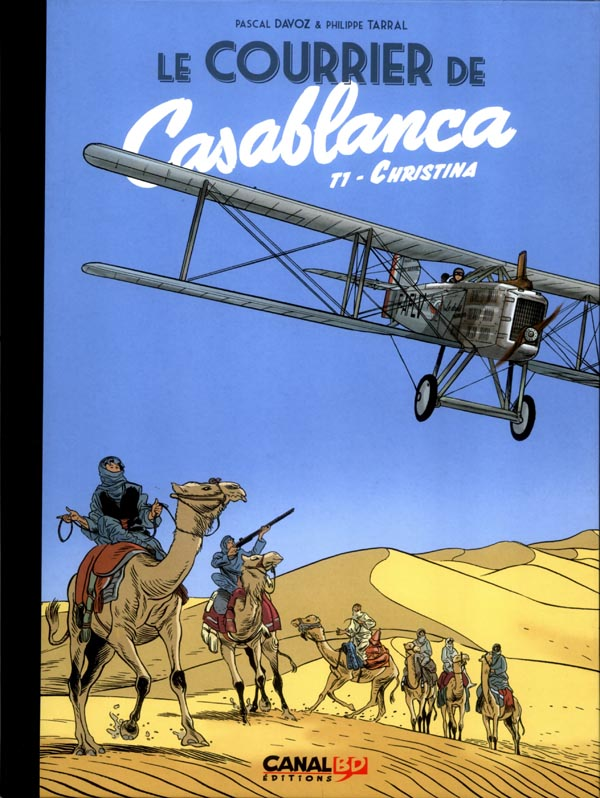 LE COURRIER DE CASABLANCA TIRAGE CANAL BD
