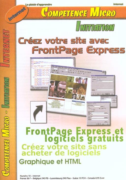 CREEZ V/SITE AVEC FRONTPAGE EXPRESS CPM