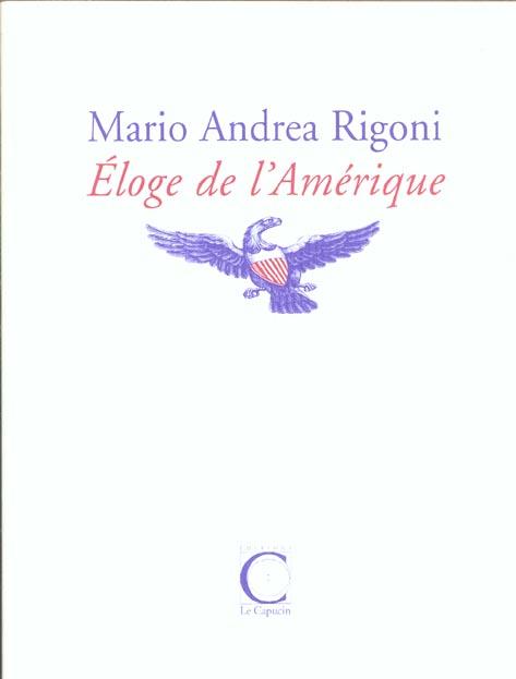 ELOGE DE L'AMERIQUE