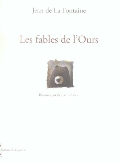 LES FABLES DE L'OURS